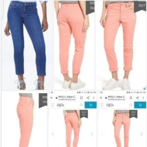 NWTS NYDJ  ALINA CONVERTIBLE ANKLE JEANS. SIZE 2